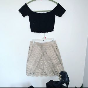 Beautiful skirt and top